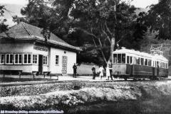 Haltestelle Friedrichroda |um 1940 | (c) privat