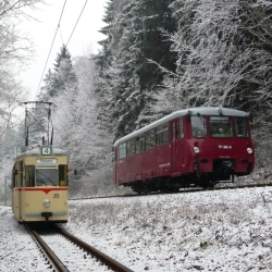 "Sonderfahrt \""1000 mm trifft 1435 mm\"", 25.01.2014"
