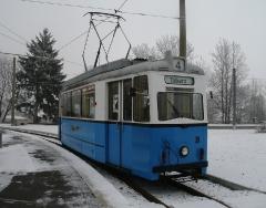 Tw 39, Waltershausen-Gleisdreieck, 25.01.2014, (C) Schneider
