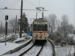 Tw 47, Waltershausen-Gleisdreieck, 25.01.2014, (C) Schneider
