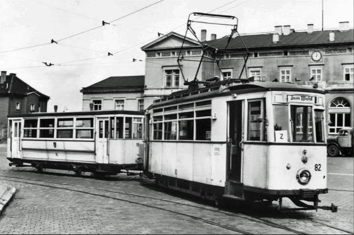 Tw 82 (Mühlhausen) | 1960er | Slg. Thomas Peter, Mühlhausen