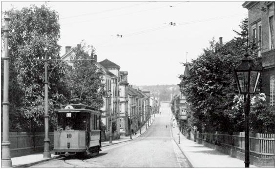 Tw 10 | Dorotheenstraße | Slg. TWSB