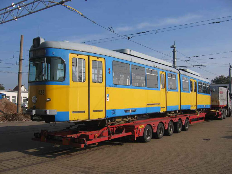 Abtransport Tw 528 | 2007 | (c) Lewandowski