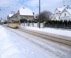 HTw 215, Ortsdurchfahrt Waltershausen, 31.01.2010, (C) Schneider (2)