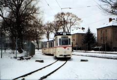 Historischer Zug 43-93, Gotha Ostbahnhof WS, 29.01.2005 (C) Schneider