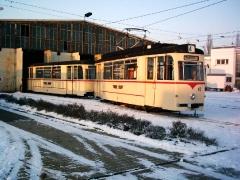Historischer Zug 43-93, Betriebshof, 28.01.2006, (C) Schneider