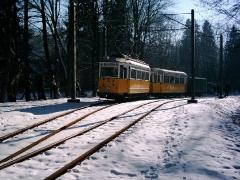 Historischer Zug 56-82-101, Reinhardsbrunn Bf., 28.01.2006, (C) Schneider
