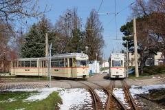 Zug 43-93, Tw 215, Waltershausen Bf., 02.04.2016_(c) S. Natzschka
