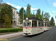 Gotha Bahnhofstraße, TW 43/BW 93. Fast 50 Jahre, aber topfit (c) sphenix