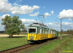 Wahlwinkel: TW 56/BW82/101. Mit diesen schönen Fahrzeugen begann die Waldbahn 1929 den Betrieb. (c) sphenix