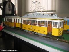 Ebenfalls sehenswert: die Ausstellungen, z.B. mit Modellen des TW 53,... (c) Kutting