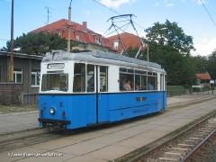 TW 39 bei einer Sonderfahrt an der Haltestelle Hauptbahnhof (c) Kutting
