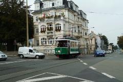 Tw 7 (SVZ), Gotha Friedrichstr./Bahnhofstr., 20.09.2014, (c) P. Kalbe