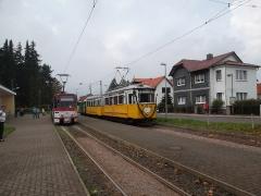 Historischer Zug 56-82-101, Hst. Tabarz, 20.09.2014, (c) D. Kirchberger