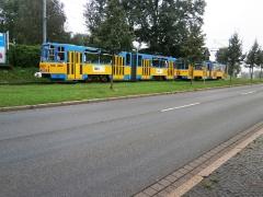 Tw 316+309 (rückwärts), Waltershäuser Str., Gotha, 21.09.2014, (c) Schneider
