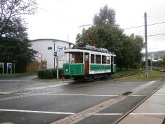 Tw 7 (SVZ) , Waltershausen-Gleisdreieck, 21.09.2014, (c) Schneider