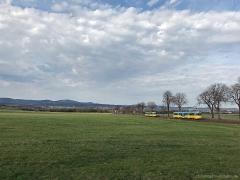 Landschaft mit Farbtupfer | Tw 505, 521 | (c) U. Kutting