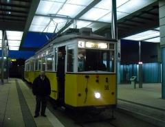 Historischer Zug 56-82-101, Gotha Hbf, 21.01.2011