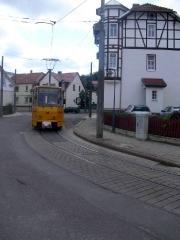 Tw 319 in Waltershausen in der