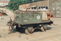 Abw.113 Achsbruchwagen im Btf. 12/97 ausgemustert 23.5.1992
