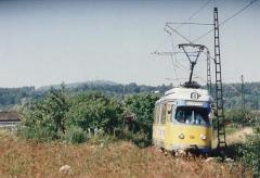 Tw 396 Gleisdreieck-Wahlwinkel 20.8.1996