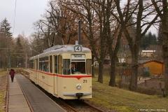 Fahrgastwechsel in Friedrichroda. (FoSoFa 2007)