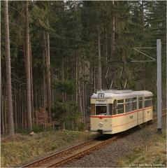 Wir fahren weiter von Friedrichroda in Richtung Marienglashöhle. Nach wenigen hundert Metern heißt es erneut: Fotohalt! (FoSoFa 2007)