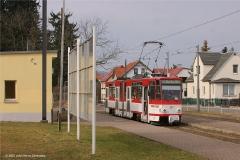 In Tabarz angekommen schien sich der Tw 317 etwas zu langweilen. (FoSoFa 2007)