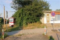 Letzte Befahrung Wendeschleife Hbf. Tw 315. (19.7.2007)