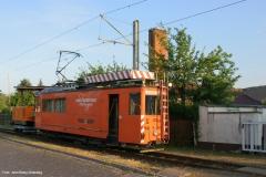 Verladung Tw 320 auf Privatgrundstück i. Walthershausen 4/5 (31.06.2006)