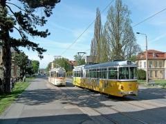 ...und GT6 395 (DUEWAG 1962) ex Mannheim 395, 2011 verschrottet auf er Linie 2