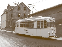 TW 47 wie anno dazumal am Nelkenberg. (29. Januar 2005)