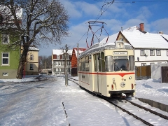 TW 47 bei Postkartenwetter in Sundhausen. (29. Januar 2005)