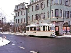 TW 47 am Hersdorfplatz. (29. Januar 2005)
