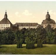 Schloss Friedenstein um 1900