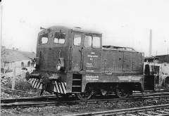 Lok 4, auf dem Gelände der Industriebahn Gotha Ost, 03.04.1977, (C) P. Kalbe