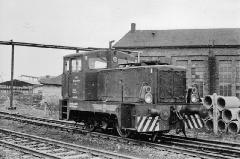 Lok 4, auf dem Gelände der Industriebahn Gotha Ost, 09.04.1977, (C) P. Kalbe