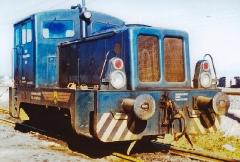 Lok 4,Industriebahn Bahnbetriebswerk, Gotha Friemarer Straße, 04.07.1974, (C) P. Kalbe