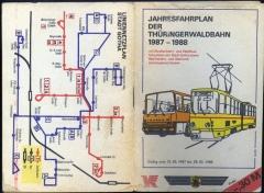 Zunächst noch ein Blick in das Fahrplanheftchen: