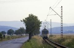 Tatra im Anflug auf Wahlwinkel. (14.07.1987)