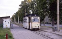 Die Linie 2 hat die Endstation am Ostbahnhof erreicht.