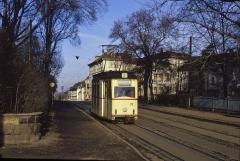Ein letztes Bild an der Haltestelle Bahnhofstraße. Immerhin gibt es den 39 auch heute noch, wenn auch in anderer Lackierung.