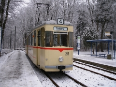 Tw 215, Reinhardsbrunn Bf., 25.01.2014 (1), (C) Schneider