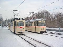 TW 43 und TW 47 am Hauptbahnhof (c) Kutting