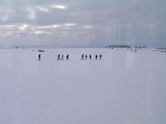 Im Laufschritt, Marsch Marsch. (c) Eilenberger