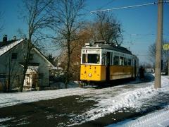 Historischer Zug 56-82-101, Waltershausen-Gleisdreieck, 28.01.2006, (C) Schneider