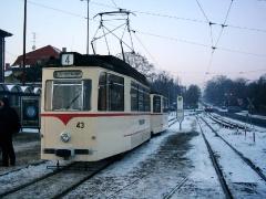 Historischer Zug 43-93, Gotha Hbf, 28.01.2006, (C) Schneider